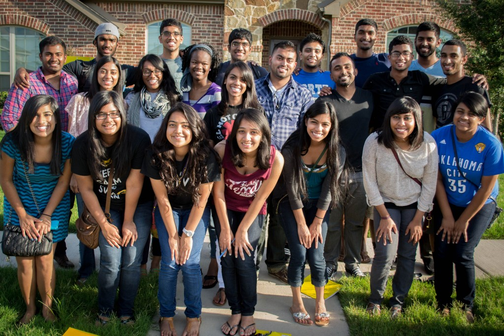 """Students from a South Asian American leadership gathering called """"Culture Shift 2013"""""""