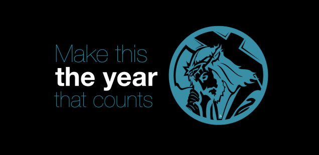 MAKE THIS THE YEAR THAT COUNTS!